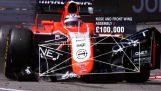 Πόσο κοστίζει ένα ατύχημα στη Formula 1;