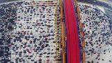 चीन में ट्रैफिक जाम