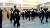 Pôsobivé tanečný súbor z Ukrajiny