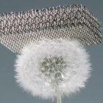 Μικροπλέγμα: Το ελαφρύτερο μέταλλο στον κόσμο