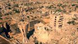 Ένα drone πετά πάνω από τη Συρία και αποκαλύπτει τον πόλεμο
