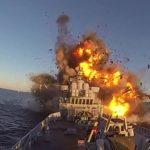 Το νορβηγικό πολεμικό ναυτικό χρησιμοποιεί μια παλιά φρεγάτα για εξάσκηση