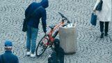 Liga de roubo de bicicleta