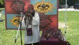 """Die """"Tod Pfeife"""" Aztec"""