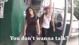 10 hours a woman on the streets of New York