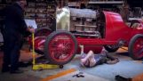 Reconstructing the 1911 fastest car