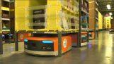 15.000 अमेज़न गोदामों पर छोटे रोबोट