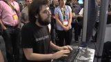 Ο ταχύτερος δακτυλογράφος: τελικός πρωταθλήματος ταχύτητας στην πληκτρολόγηση