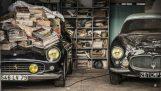 100 συλλεκτικά αυτοκίνητα βρέθηκαν εγκαταλελειμμένα