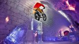 बर्फ पर मोटरसाइकिल परीक्षण