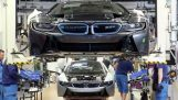 ในสายการผลิตของ BMW i8