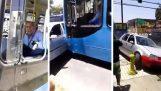 Μην απειλείς τον οδηγό του λεωφορείου