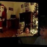 Caméra cachée capture le père Noël