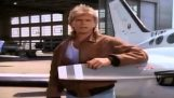 The introduction of Macgyver with funny sound effects