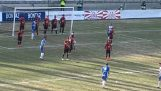 Det innovative systemet for forsvar i fotballkamp