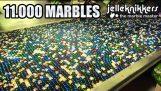 큰 대리석 실행 기: 11 000 Marbles!!!