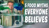 5 Lebensmittel Mythen Jeder glaubt,