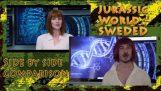 Jurassic World – Sweded Trailer (Side By Side Comparison)