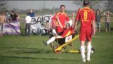 Medical assistance in the fifth Romanian league
