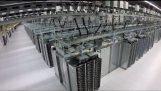 În interiorul unui centru de date Google