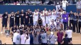 """Εθνική ομάδα μπάσκετ 2005 vs Antetokounbros 92-91 Highlights (""""Antetokounbros Event"""" 2017 Αθήνα)"""