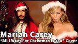 Mariah Carey – Sve što želim za Božić si ti | Ten Second Songs 20 Style Christmas Cover