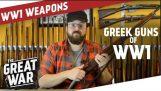 Greek Rifles and Pistols of World War 1