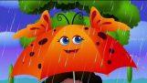 Rain, Rain, Go Away Nursery Rhyme With Lyrics – Cartoon Animation Rhymes & Songs for Children