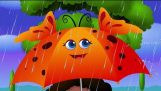 Rain, Pluie, Go Away Comptine With Lyrics – Rhymes Cartoon animation & Chansons pour enfants