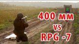 400 mm bulletproof against RPG-7. 16 'bulletproof glass vs RPG-7
