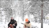 Folk Music In A Wolf Sanctuary