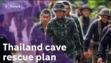 A detailed explanation of the rescue operation in the Thai cave