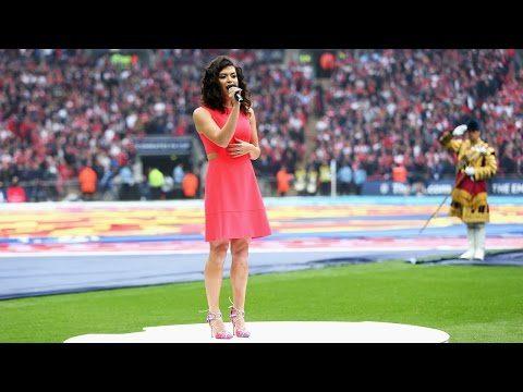 国歌を歌うあなたのキューを欠場...