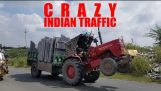 CRAZY INDIAN TRAFFIC