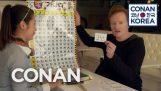 Конан вчиться Корейська і робить його дивно