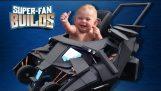 Batmobile detský kočík (Temný rytier) – SUPER-FAN STAVIA
