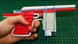 כיצד להפוך את רובה של נייר