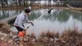 Риболовът с Weed Wacker