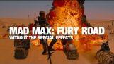 Mad Max Fury yol özel efektler olmadan