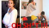 Novia embarazada broma contraexplosiones