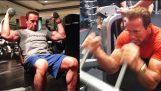 Arnold Schwarzenegger Motivation | 68 Jahre alt | Ausbildung