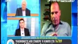 Βαρουφάκης: Η ΕΚΤ θα απειλήσει με πρόβλημα ρευστότητας (09 Δεκ 2014)
