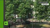 เบลเยียม: ขณะที่เมื่อตำรวจต่อต้านการโจมตีของการถ่ายภาพLiège (พิเศษ)