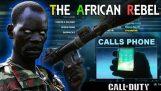 Африкански Rebel ПРИЗОВАВА KIDS телефон COD!