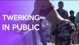 Twerking In Public