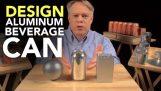 Находчивата конструкция на алуминиеви напитка може да
