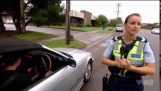 FAIL Idiot Gets A Speeding Ticket Then Speeds Off And Gets Another One