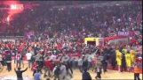 Printezis ultimi 5 secondi Olympiakos vs Barcellona