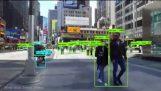 Ένα σύστημα ανίχνευσης αντικειμένων στην Times Square