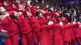 Οι οπαδοί της Βόρειας Κορέας, στους χειμερινούς Ολυμπιακούς αγώνες